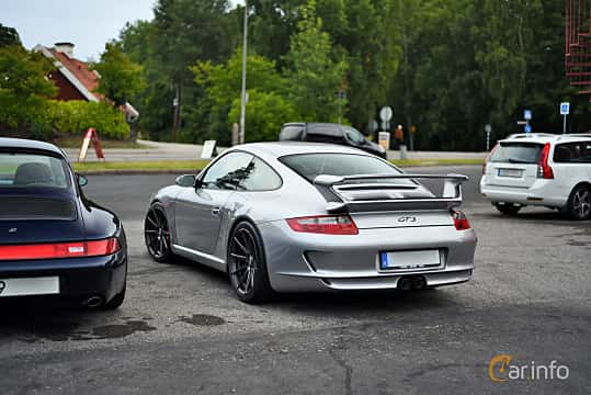 Back/Side of Porsche 911 GT3 3.6 H6 Manual, 415ps, 2007