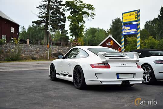 Back/Side of Porsche 911 GT3 3.6 H6 Manual, 415ps, 2008