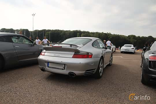 Back/Side of Porsche 911 Turbo 3.6 H6 4 TipTronic, 420ps, 2004 at Autoropa Racing day Knutstorp 2019