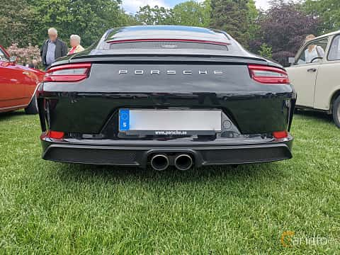 Back of Porsche 911 GT3 4.0 H6 Manual, 500ps, 2018 at Sofiero Classic 2019