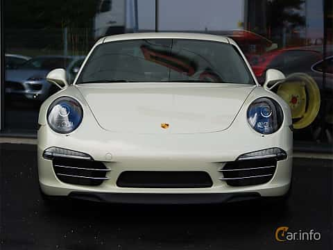 Front of Porsche 911 Carrera S 3.8 H6 Manual, 400ps, 2014