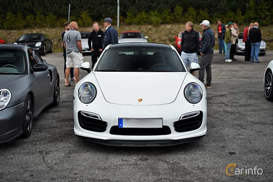 Front  of Porsche 911 Turbo 3.8 H6 4 PDK, 520ps, 2014
