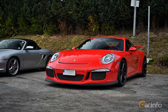 Front/Side  of Porsche 911 GT3 3.8 H6 PDK, 475ps, 2015