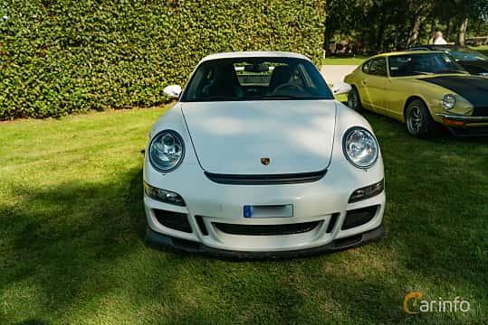 Front  of Porsche 911 GT3 3.6 H6 Manual, 415ps, 2008 at Sportbilsklassiker Stockamöllan 2019