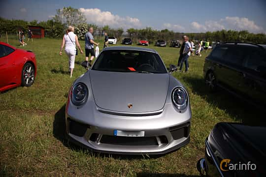Front  of Porsche 911 GT3 4.0 H6 Manual, 500ps, 2018 at Tjolöholm Classic Motor 2018