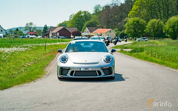 Front  of Porsche 911 GT3 4.0 H6 Manual, 500ps, 2018 at Tjolöholm Classic Motor 2019