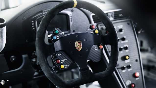 Interior of Porsche 911 GT3 Cup 4.0 H6 Sequential, 485hp, 2017