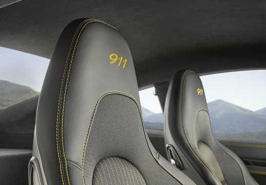 Interior of Porsche 911 Carrera T 3.0 Manual, 370hp, 2018