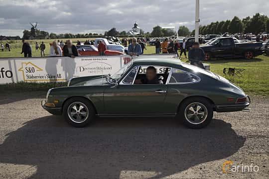 Side  of Porsche 912 1.6 Manual, 90ps, 1968 at Tisdagsträffarna Vikingatider v.25 / 2017