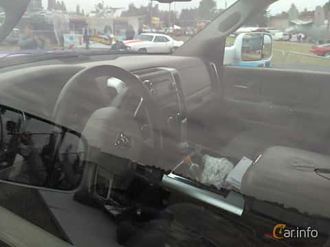 Interior of RAM 1500 Crew Cab 5.7 V8 4WD Automatic, 401ps, 2014 at Old Car Land no.2 2017