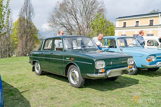Front/Side  of Renault 10 1.1 Manual, 46ps, 1968 at Fest För Franska Fordon  på Taxinge slott 2019