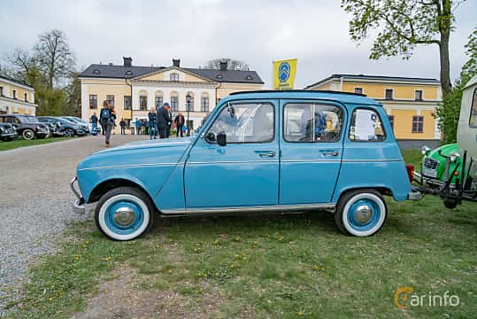 Side  of Renault 4 0.7 Manual, 27ps, 1967 at Fest För Franska Fordon  på Taxinge slott 2019