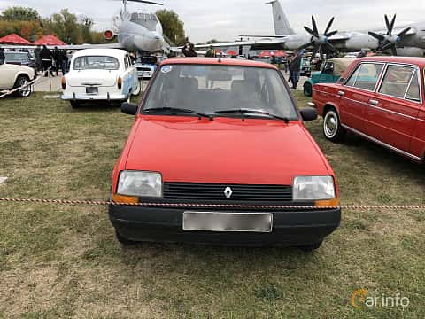 Front  of Renault 5 3-door 1986 at Old Car Land no.2 2019