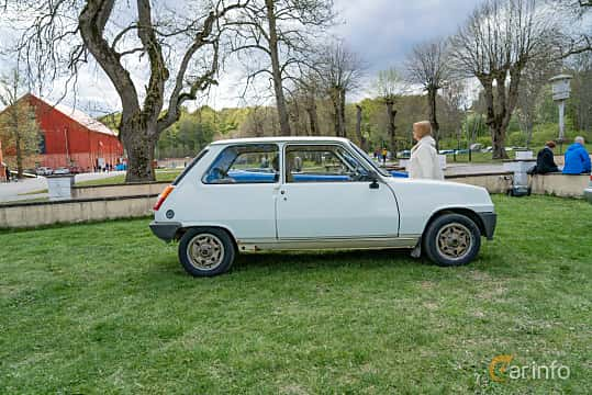 Side  of Renault 5 3-door 1.4 Manual, 64ps, 1983 at Fest För Franska Fordon  på Taxinge slott 2019