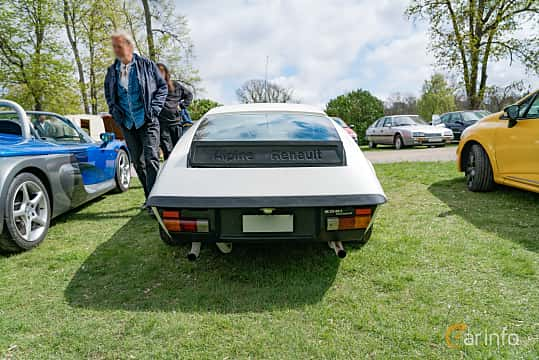 Back of Renault Alpine A310 2.7 V6 Manual, 150ps, 1980 at Fest För Franska Fordon  på Taxinge slott 2019