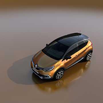 Side  of Renault Captur 1st Generation Facelift