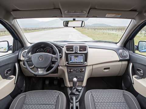 Interior of Renault Logan 2nd Generation