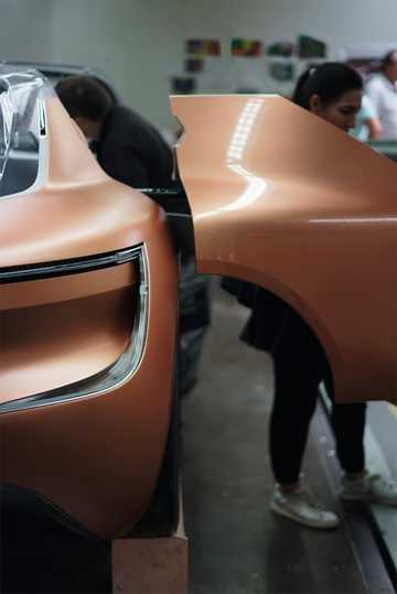 Close-up of Renault Symbioz Concept Concept, 2017