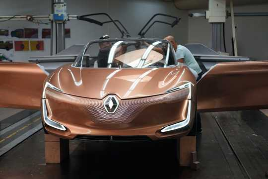 Front  of Renault Symbioz Concept Concept, 2017