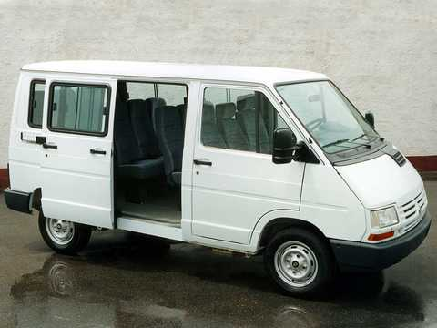 Front/Side  of Renault Trafic Minibus 1991