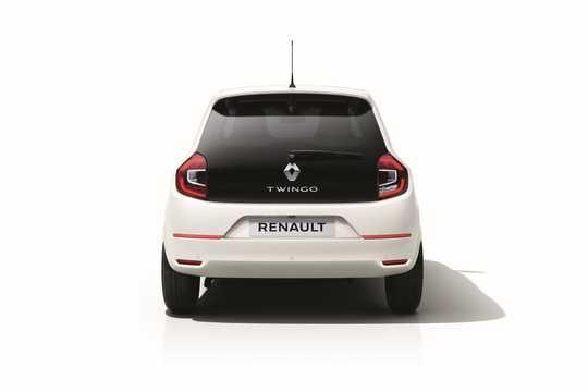 Back of Renault Twingo 2019