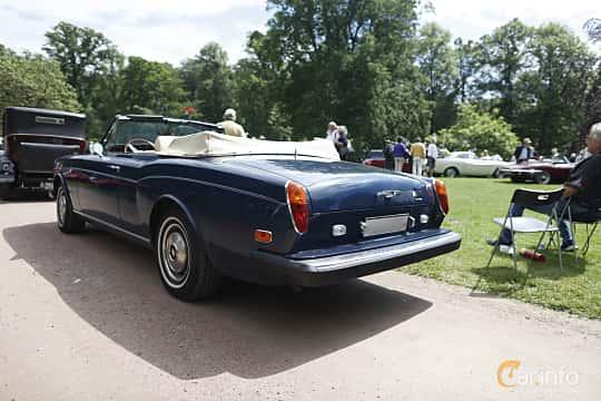 Back/Side of Rolls-Royce Corniche Convertible 6.8 V8 Automatic, 200ps, 1975 at Sofiero Classic 2019