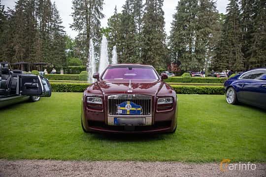 Front  of Rolls-Royce Ghost 6.6 V12 Automatic, 570ps, 2010 at Rolls-Royce och Bentley, Norrviken Båstad 2019