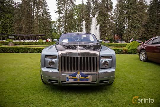 Front  of Rolls-Royce Phantom Drophead Coupé 6.7 V12 Automatic, 460ps, 2009 at Rolls-Royce och Bentley, Norrviken Båstad 2019
