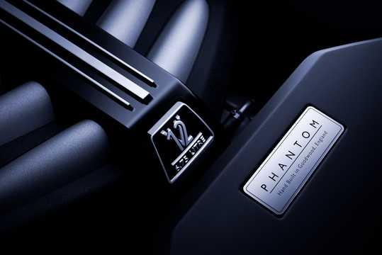 Engine compartment  of Rolls-Royce Phantom EWB 6.7 V12 Automatic, 571hp, 2018