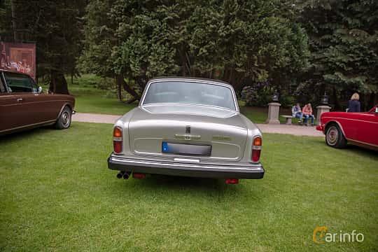 Back of Rolls-Royce Silver Shadow 4-door 6.8 V8 Automatic, 200ps, 1980 at Rolls-Royce och Bentley, Norrviken Båstad 2019