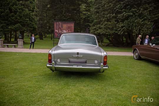 Back of Rolls-Royce Silver Shadow 4-door 6.8 V8 Automatic, 200ps, 1970 at Rolls-Royce och Bentley, Norrviken Båstad 2019