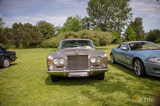 Front  of Rolls-Royce Silver Shadow 4-door 6.2 V8 Automatic, 178ps, 1969 at Rolls-Royce och Bentley, Norrviken Båstad 2019