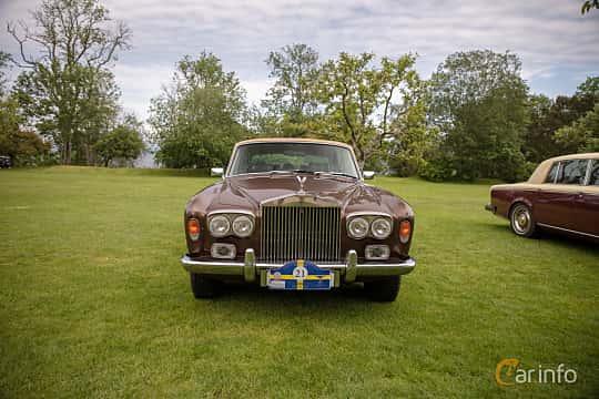 Front  of Rolls-Royce Silver Shadow 4-door 6.8 V8 Automatic, 200ps, 1976 at Rolls-Royce och Bentley, Norrviken Båstad 2019