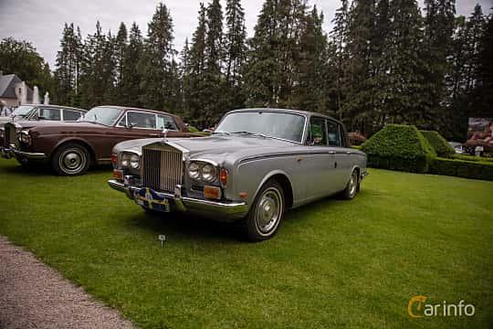 Front/Side  of Rolls-Royce Silver Shadow 4-door 6.8 V8 Automatic, 200ps, 1970 at Rolls-Royce och Bentley, Norrviken Båstad 2019