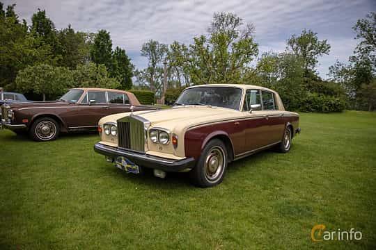 Front/Side  of Rolls-Royce Silver Shadow 4-door 6.8 V8 Automatic, 200ps, 1980 at Rolls-Royce och Bentley, Norrviken Båstad 2019