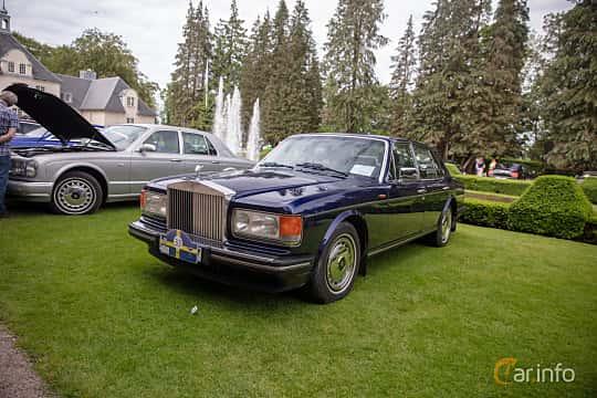 Front/Side  of Rolls-Royce Silver Spirit 6.75 V8 Automatic, 305ps, 1994 at Rolls-Royce och Bentley, Norrviken Båstad 2019