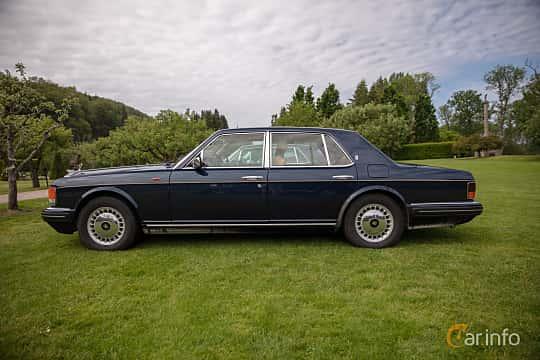 Side  of Rolls-Royce Silver Spirit 6.75 V8 Automatic, 300ps, 1997 at Rolls-Royce och Bentley, Norrviken Båstad 2019