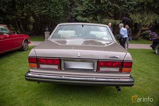 Back of Rolls-Royce Silver Spur 6.75 V8 Automatic, 201ps, 1987 at Rolls-Royce och Bentley, Norrviken Båstad 2019