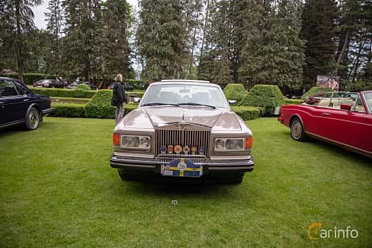 Front  of Rolls-Royce Silver Spur 6.75 V8 Automatic, 201ps, 1987 at Rolls-Royce och Bentley, Norrviken Båstad 2019