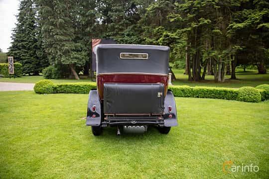 Back of Rolls-Royce Twenty 3.1 Manual, 20ps, 1929 at Rolls-Royce och Bentley, Norrviken Båstad 2019