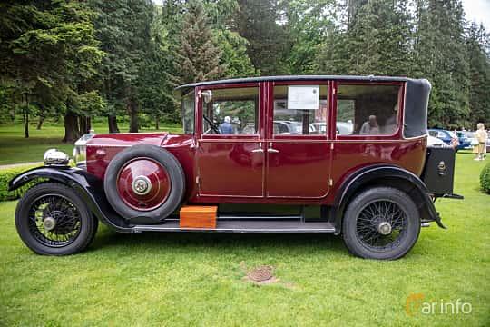 Side  of Rolls-Royce Twenty 3.1 Manual, 20ps, 1929 at Rolls-Royce och Bentley, Norrviken Båstad 2019