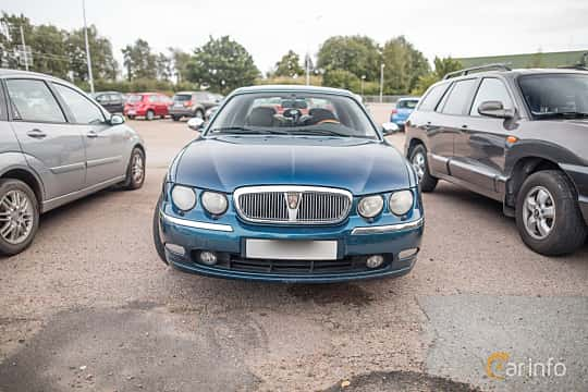 Front  of Rover 75 2.5 V6 Automatic, 177ps, 2000 at Billesholms Veteranbilsträff September / 2015