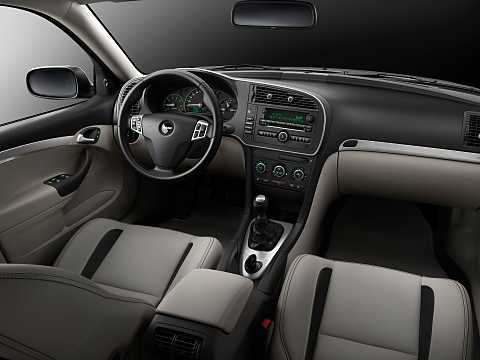 Interior of Saab 9-3 Aero Sedan 2.0 Manual, 220hp, 2014