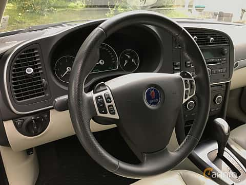Interior of Saab 9-3 SportCombi 1.9 TTiD Automatic, 180ps, 2009