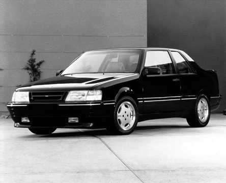 Front/Side  of Saab 9000 CD Turbo Coupe by ASC Concept Concept, 1989