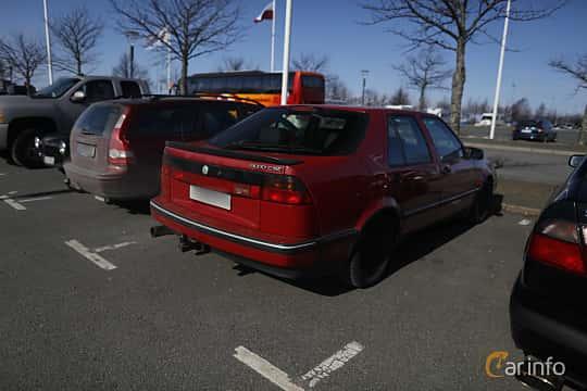 Back/Side of Saab 9000 CS 2.0 Turbo Manual, 150ps, 1997