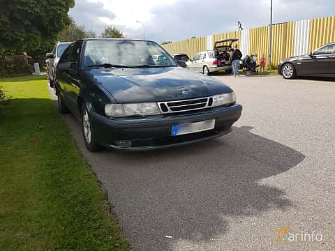 Front/Side of Saab 9000 CS 2.0 Turbo Manual, 150ps, 1998