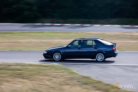 Sida av Saab 9000 CS 2.0 Turbo Manual, 185ps, 1995 på JapTuning Trackday 2018 Knutstorp