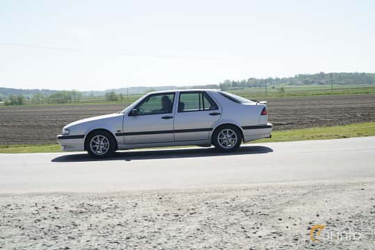 Sida av Saab 9000 CS 2.0 Turbo Manual, 150ps, 1997 på Tjolöholm Classic Motor 2017