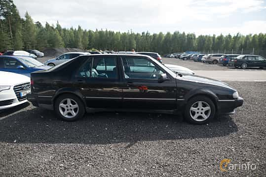 Sida av Saab 9000 CS 2.3 Turbo Manual, 170ps, 1995 på Tyskträffen 2017